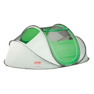 Coleman Green Pop-up 4-person Tent