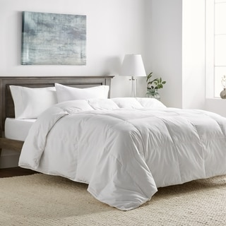 All Cotton Supreme Natural Down Fiber Blend Comforter