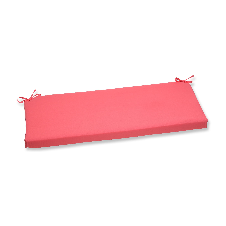 Magnificent Pillow Perfect Outdoor Pink Bench Cushion Machost Co Dining Chair Design Ideas Machostcouk