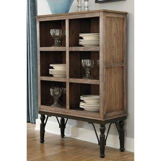 Signature Design by Ashley Tripton Medium Brown Contemporary Dining Room Server