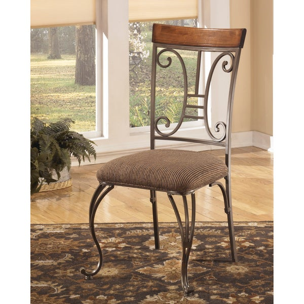 Signature Design by Ashley 'Plentywood' Brown Dining Chair (Set of 4)
