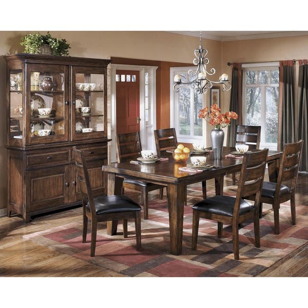 Signature Design by Ashley \'Larchmont\' Dark Brown Dining Room Buffet