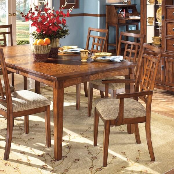 signature designashley 'cross island' dining arm chair (set of