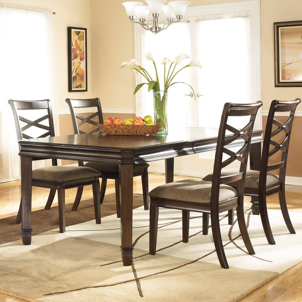 Shop Signature Design By Ashley 'Hayley' Dark Brown Dining