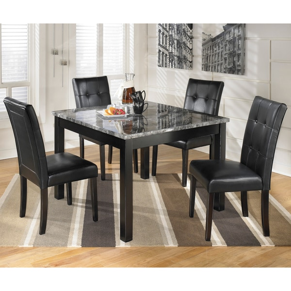 Dining Room Sets Black: Shop Signature Design By Ashley 'Maysville' Black/ Grey
