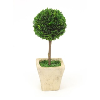 Sage & Co Small 10.5-inch Boxwood Topiary