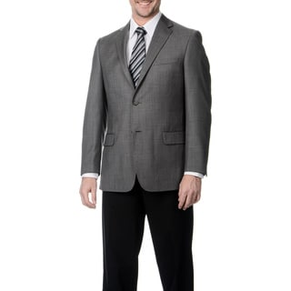 Palm Beach Men's Big & Tall Grey Single Vent Jacket