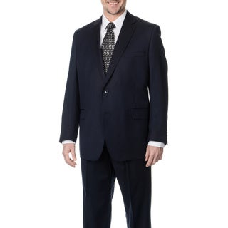 Palm Beach Men's Big & Tall Navy 2-button Jacket