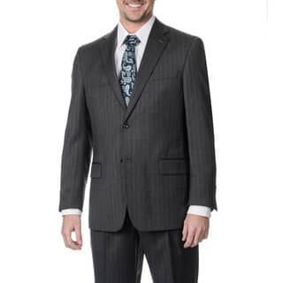 Palm Beach Men's Big and Tall 2-button Single Vent Grey Stripe Suit Jacket|https://ak1.ostkcdn.com/images/products/8915202/P16132699.jpg?impolicy=medium