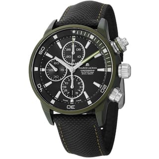 Maurice Lacriox Men's PT6028-ALB21-331 'PontosExtreme' Black Dial Nato Strap Watch|https://ak1.ostkcdn.com/images/products/8915219/Maurice-Lacriox-Mens-PT6028-ALB21-331-PontosExtreme-Black-Dial-Nato-Strap-Watch-P16132741.jpg?impolicy=medium