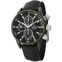 Maurice Lacriox Men's PT6028-ALB21-331 'PontosExtreme' Black Dial Nato Strap Watch