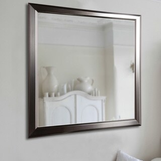 American Made Rayne Sleek Stainless Silver Wall/ Vanity Mirror (5 options available)
