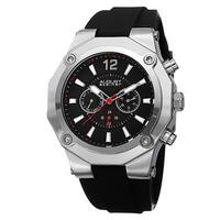 August Steiner Men's Swiss Quartz Multifunction Strap Watch