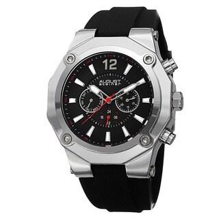 August Steiner Men's Swiss Quartz Multifunction Strap Watch
