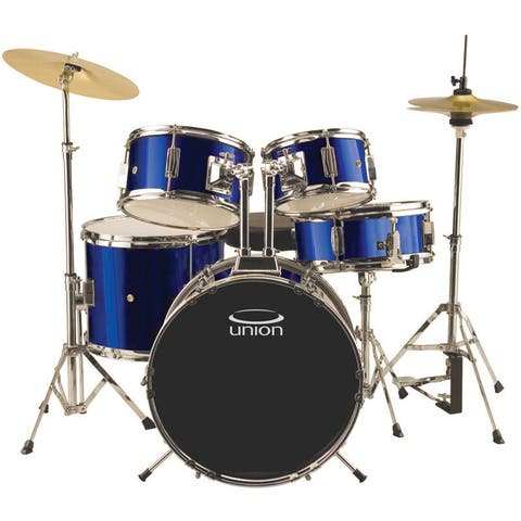 Union UJ5 5-piece Dark Blue Junior Drum Set