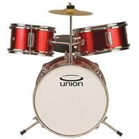 Union UT3 3-piece Metallic Red Toy Drum Set