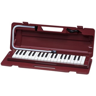 Yamaha Pianica Red Keyboard Wind Instrument