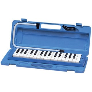Yamaha Pianica Blue Keyboard Wind Instrument