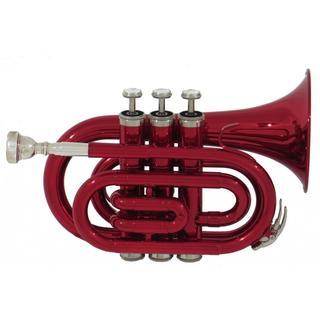 Ravel Red Brass Pocket Trumpet