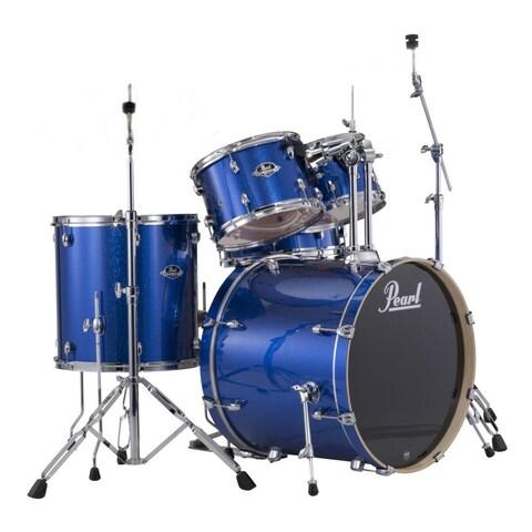 Pearl Export 5-piece Electric Blue Sparkle Drum Kit