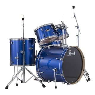 Pearl Export 5-piece Electric Blue Sparkle Drum Kit