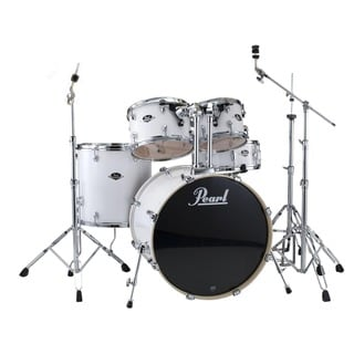 Pearl Export 5-piece Pure White Drum Kit