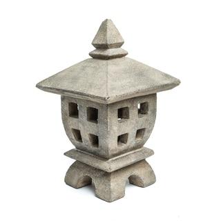 Volcanic Ash Mini Oki-Gata Lantern, Handmade in Indonesia