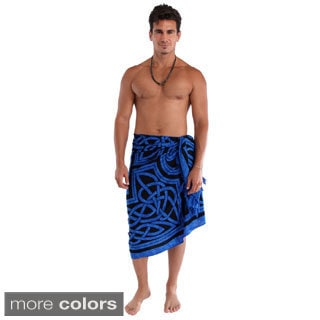 1 World Sarongs Men's Celtic Circles Sarong (Indonesia)
