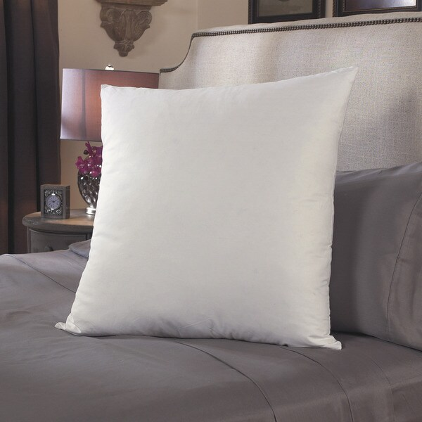 Shop Down Alternative 26 X 26 Cotton Euro Square Pillows