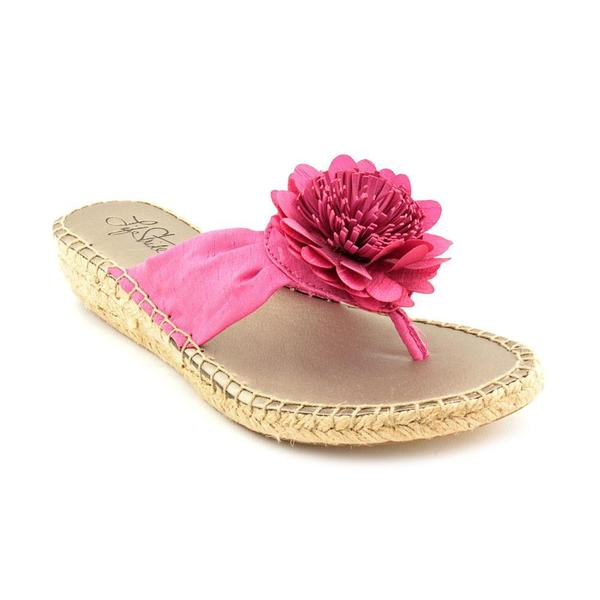 Life Stride Women's 'Rio Tres' Fabric Sandals - Wide (Size 6 )