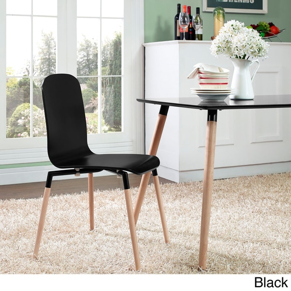Wood Steel Dining Room Chairs: Shop Stackable Steel-top And Wood Dining Chair