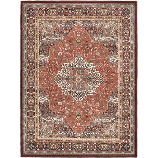 Medallion Copper Area Rug (5'6 x 7'5)