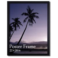 Black Wooden Poster/ Picture Frame (22 x 28 inches)
