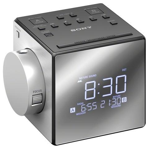 Sony Clock Radio - 100 mW RMS - Mono