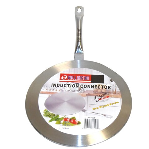 Induction Cook Top 7.5-inch Stainless Steel Converter Interface Disc