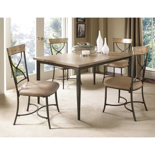Charleston 5-piece Rectangle Dining Set with X-back Chair|https://ak1.ostkcdn.com/images/products/8923944/Charleston-5-piece-Rectangle-Dining-Set-with-X-back-Chair-P16140346.jpg?impolicy=medium