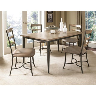 Charleston 5-piece Rectangle Dining Set with Ladder Back Chair