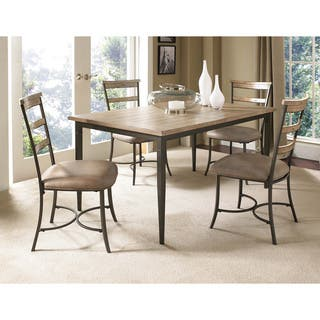 Charleston 5-piece Rectangle Dining Set with Ladder Back Chair|https://ak1.ostkcdn.com/images/products/8923955/P16140373.jpg?impolicy=medium