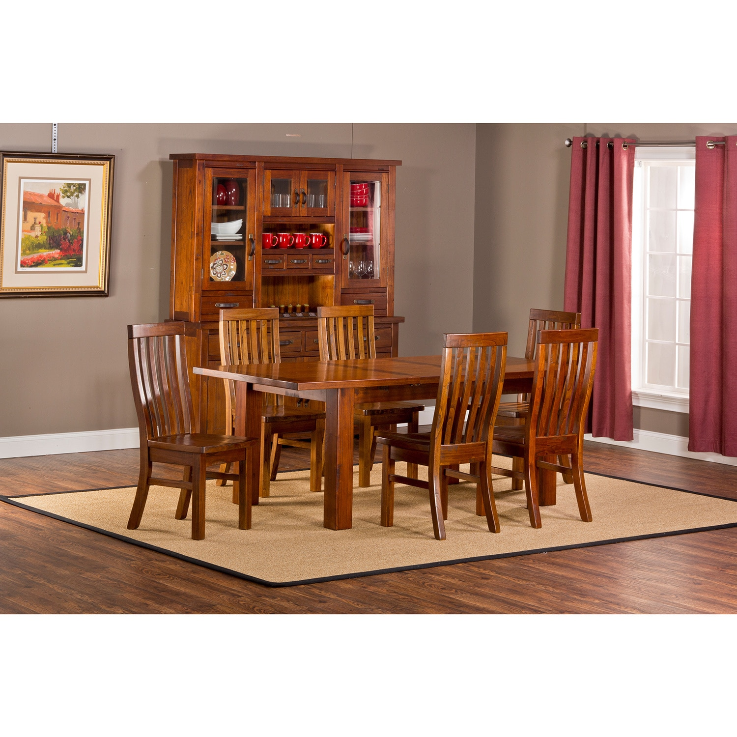 Hillsdale Outback 7-piece Table with Leaf Dining Set (7 P...