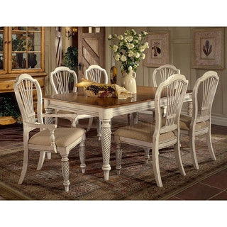 Wilshire 7-piece Rectangle Dining Set with Dining Chairs