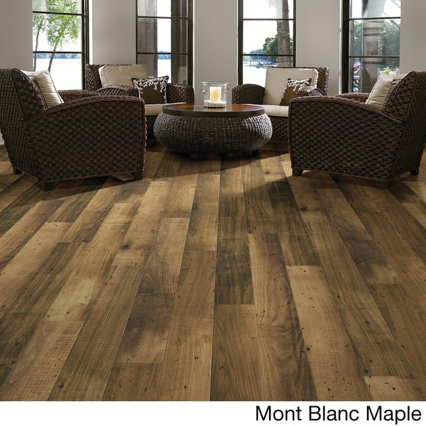 Shop Left Bank Laminate Flooring Free Shipping Today Overstock
