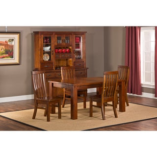 Outback 5-piece Table with Leaf Dining Set