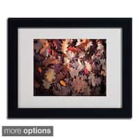 Philippe Sainte-Laudy 'Goofy Leaves' Framed Matted Art