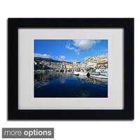 Philippe Sainte-Laudy 'Bastia-Corsica' Framed Matted Art