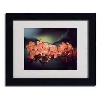 Philippe Sainte-Laudy 'Flowers Waiting' Framed Matted Art
