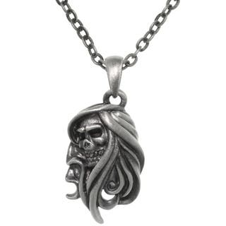 Pewter Grim Reaper Chain Necklace https://ak1.ostkcdn.com/images/products/8924451/CGC-Pewter-Grim-Reaper-Chain-Necklace-P16140771.jpg?impolicy=medium