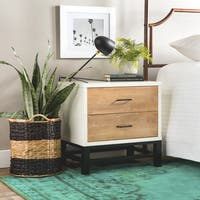 Palm Canyon Henna Tri-tone 2-drawer Nightstand