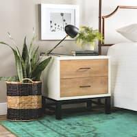 Carson Carrington Henna Tri-tone 2-drawer Nightstand
