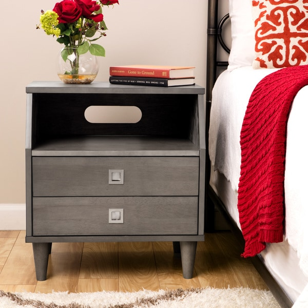 Marley 2-drawer Nightstand - Free Shipping Today - Overstock.com ...