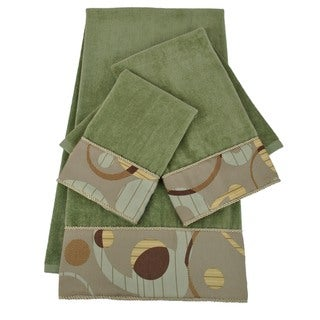Sherry Kline Encircle Embellished 3-piece Towel Set